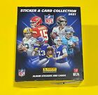 2021 Panini NFL Sticker & Card Collection Box (50 Packs) Brand New 🔥 🔥 🔥