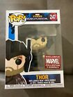 Funko Pop! Thor Ragnarok Marvel Collector Corps Exclusive Thor #247 w protector