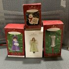 Hallmark Keepsake Vintage Lot Of 4 Valuable And rare Ornaments All New In Box