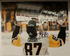 SIDNEY CROSBY Pittsburgh Penguins AUTOGRAPHED 8X10 Photo w COA