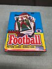 1989 Topps NFL Football Cards Wax Box - 36 Unopened Packs