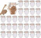 Small Spice Jars Encheng Glass Jars Airtight Lids 4 oz And Leak Proof Rubber New