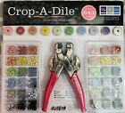 Crop A Dile Hole Punch Eyelet Snap Setter 643 Piece Kit
