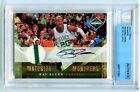 RAY ALLEN 2010-11 PANINI LIMITED PRIME MONIKERS PATCH AUTO 25 BECKETT AUTHENTIC