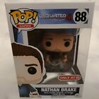 Funko Pop - Uncharted - Nathan Drake - Target Exclusive 88 with Protector
