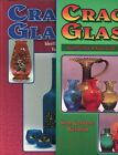 Crackle Glass Identification Types Makers Dates Scarce 2 Vol Book Set + Values