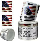 100 USPS FOREVER STAMPS, 2017 First Class US Flag Postage Stamps