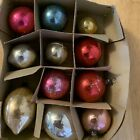11 Beautiful Vintage Glass Christmas Ornaments Seem Very Old Various Size Shape