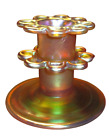 Authentic LC Tiffany Glass Gold Favrile Flower Arranger