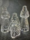 Princess House Nativity 3 Wise Men 24 Lead Crystal Made in Germany  915