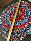 6 Lb HUGE Vintage Mod MIXED bead LOT Millifiore Art Glass Stone  other beads