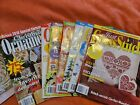 Just Cross Stitch Magazine 2010 entire year PLUS Special Christmas Issue