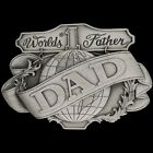 Father Dad Daddy Grandpa Grampa Pop Pappy Pa Grand 1980s NOS Vintage Belt Buckle