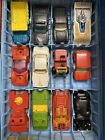 48 CAR LOT Vintage Matchbox Lesney England Superfast w Case Used Played With