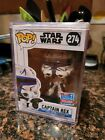 Funko Pop! Star Wars #274 Captain Rex 2018 Fall Convention Exc. W Hard Stack