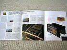 Accuphase A-50 power amplifier brochure catalogue