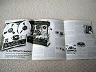 TEAC 3300-10/3300-11/3300-12 reel to reel deck brochure