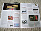 Accuphase DP-60 CD player brochure, GERMAN edition
