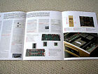 Accuphase DP-65 CD player brochure, GERMAN edition