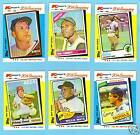 1982 Topps Mickey Mantle Card 44 Boxed Set Gem Mint !!