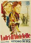 THE BICYCLE THIEF MOVIE POSTER Vittorio De Sica RARE