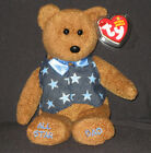 TY ALL-STAR DAD the BEAR BEANIE BABY - MINT with MINT TAG