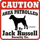 Jack Russell Caution Dog Sign
