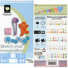 STRETCH YOUR IMAGINATION CRICUT CARTRIDGE Die Cutting Cartridge NEW