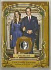 Prince William Kate Middleton Topps Gypsy Queen Crown Jewel Relic April 29, 2011