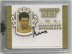 Muhammad Ali 2010 SportKings Series D - GOLD Auto 5 - Cassius Clay GOAT Boxer