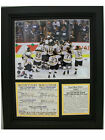 BOSTON BRUINS STANLEY CUP CHAMPIONS FRAMED 8X10 PHOTO