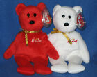 TY WILLIAM & HAMLEY SET BEANIE BABY - MINT RETIRED