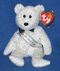 TY NEW YEAR 2007 BEAR BEANIE BABY - MINT with MINT TAG