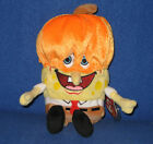 TY SPONGEBOB PUMPKINMASK BEANIE BABY - MINT with MINT TAG