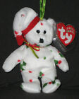 TY 1998 HOLIDAY TEDDY JINGLE BEANIE BABY - MINT with MINT TAG