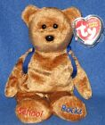 TY ABC's the BEAR BEANIE BABY - MINT with MINT TAG
