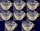 Federal Yorktown Clear Cups  Punch Snack USA (Set of 8)