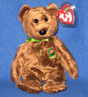 TY WILLIAM  'CLOSED BOOK'  BEAR BEANIE BABY - UK EXCLUSIVE - MINT with MINT TAG