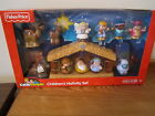 Fisher Price Little People Nativity Manger Wise men Childrens Exclusive Jesus