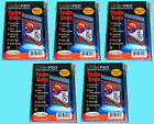 Ultra Pro TEAM SET BAGS 5 Packs Resealable Strip NEW 500 card sleeves 81130
