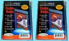 Ultra Pro TEAM SET BAGS 2 Packs Resealable Strip NEW 200 card sleeves protector