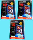 Ultra Pro TEAM SET BAGS 3 Packs Resealable Strip NEW 300 card sleeves 81130