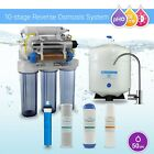 Max Water 10 Stage UV PH Alkaline Mineral RODI Drinking Reverse Osmosis System