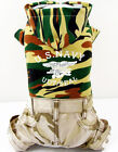 T Army Navy Camo Hoodie Pants 1pc Cute costume dog clothes Chihuahua