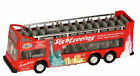New York City RED Bus Open Top Gray Line Sight Seeing Bus Diecast Mint