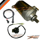 Eagle TaoTao Redcat 125cc 150cc Starter Motor and Relay Solenoid Moped Go Kart