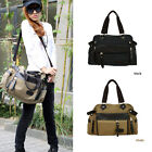 Big Size Washed Canvas Korean Style Hot Cross Body Shoulder Bags Tote Bag CJ055