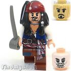 PM104 H061 Lego Pirates of the Caribbean Jack Sparrow and Wood Grain Voodoo Head
