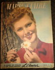 Vintage French Marie Claire 9 1938 Greta Garbo Charlie Chaplin Norma Shearer ads