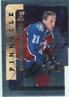 1996-97 BE A PLAYER - PETER FORSBERG LINK 2 HISTORY AUTOGRAPH SILVER #2B